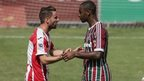 Exeter drew 0-0 with Fluminense on Sunday