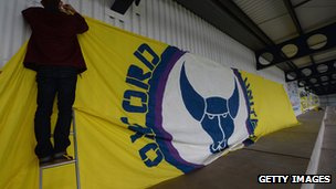Oxford United banner