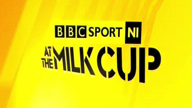 BBC Sport NI Milk Cup logo