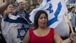 Israelis in Jerusalem demonstrate in support of Gaza offensive (14/07/14)
