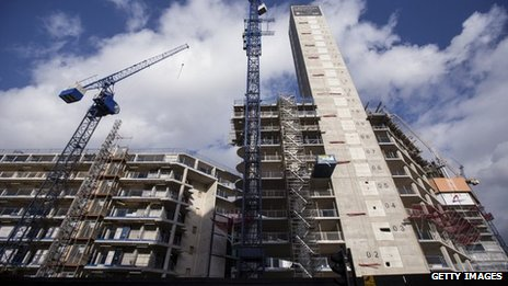 Construction of homes in London