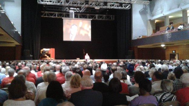 Bob Jones memorial service