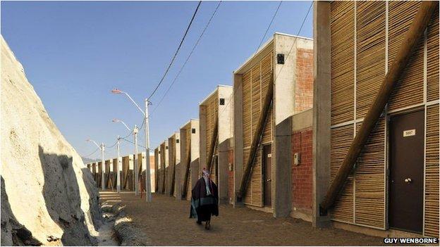 Mapuche housing complex