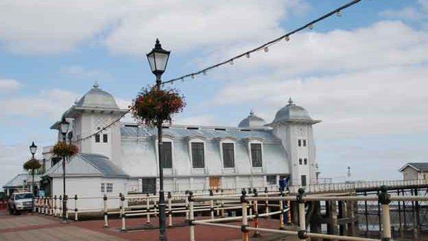 Penarth Pier's refurbished pavilion