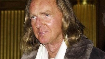 Sir John Tavener at a concert in 2000