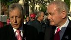 Peter Robinson and  Martin McGuinness are understood to have agreed a deal on the Executive budget