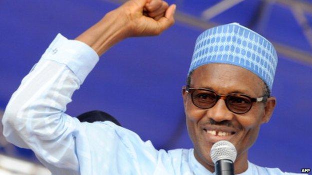 Muhammadu Buhari pictured in 2011