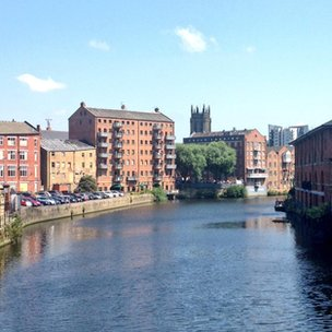 river aire in leeds