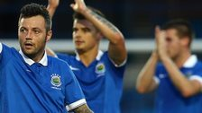 Linfield beat AIK Solna 1-0 in the first leg at Mourneview Park