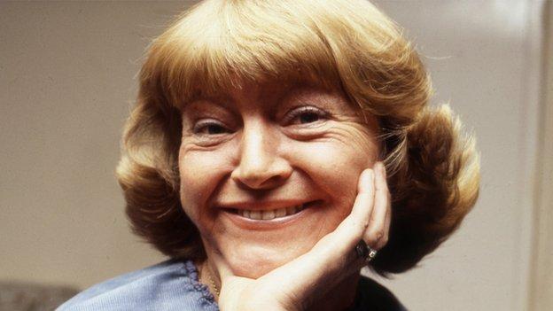 Dora Bryan in 1978