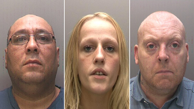 Stephen Redhead, Stephanie Coggan and Jonathan Lindley