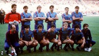 Barcelona in 1986