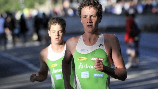 Alistair and Jonny Brownlee