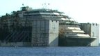 VIDEO: Last journey of Costa Concordia