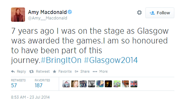Amy Macdonald tweet