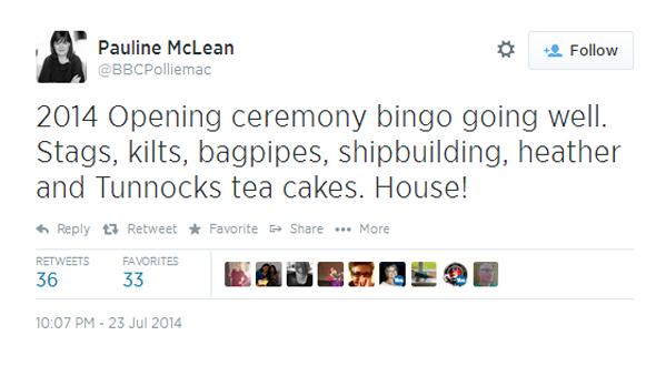 Pauline McLean tweet