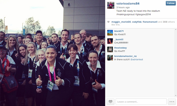 Valerie Adams Instagram