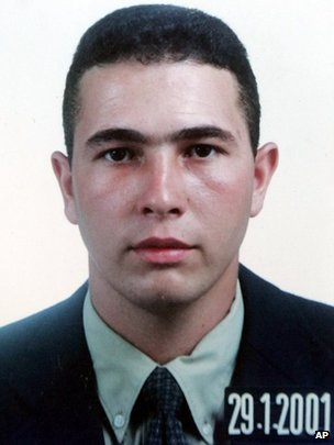Jean Charles de Menezes is seen in this identification photo from Jan 29, 2001