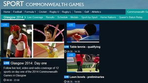 commonwealht homepage