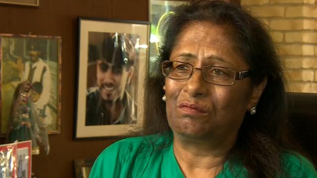 Sukhdev Reel, mother of Ricky