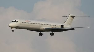 File photo: An MD83 plane