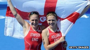 Jodie Stimpson and Vicky Holland 2014