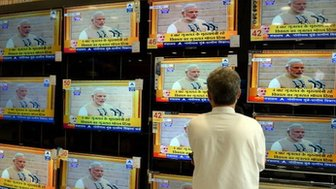 Narendra Modi on TV