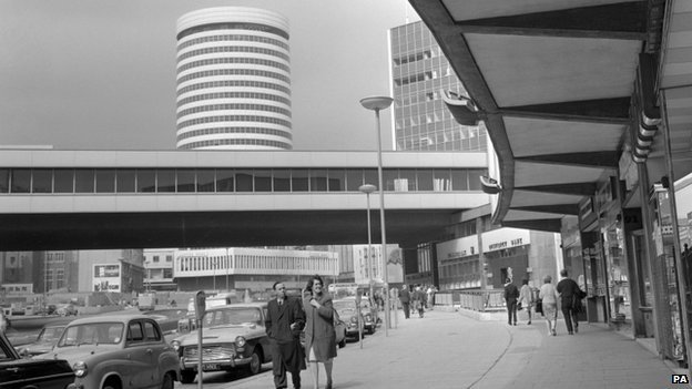 Birmingham's Bull Ring in the 1960s
