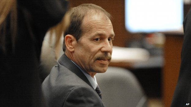 Theodore Wafer sits in court in Detroit, Michigan, on 23 July 2014