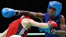 Olympic champion Nicola Adams