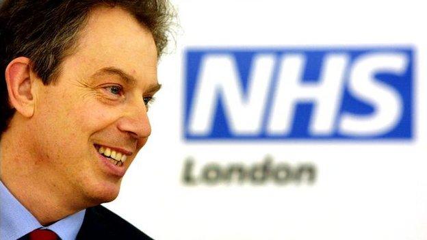 Tony Blair in 2001