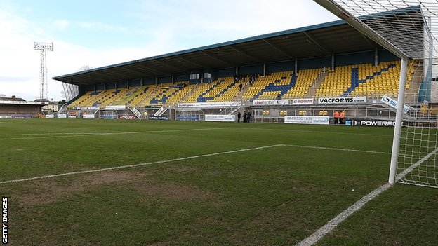 Torquay United's Plainmoor