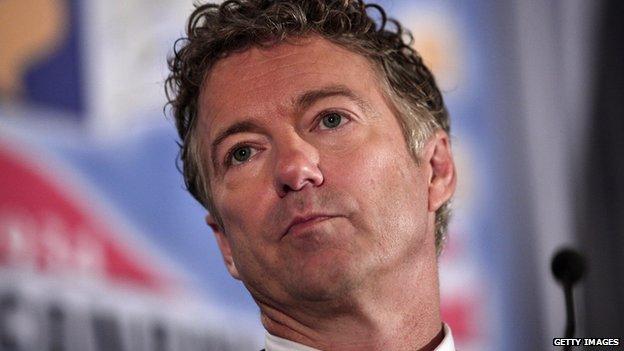 US Senator Rand Paul.