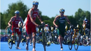 Glasgow 2014 triathlon