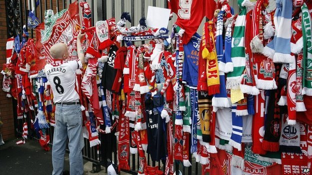 Scarves at Hillsborough