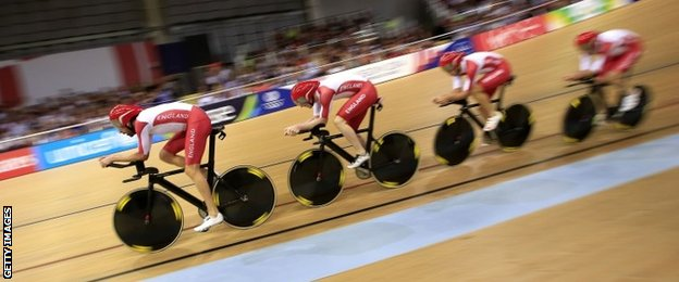 England cycling team