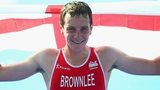 Alastair Brownlee wins triathlon gold in Glasgow