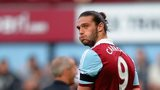 West Ham striker Andy Carroll