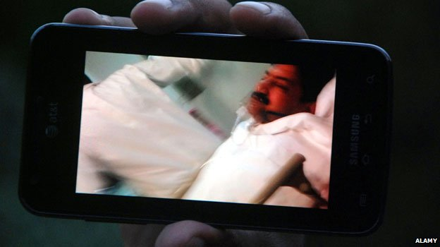 Hamid Mir after he was shot