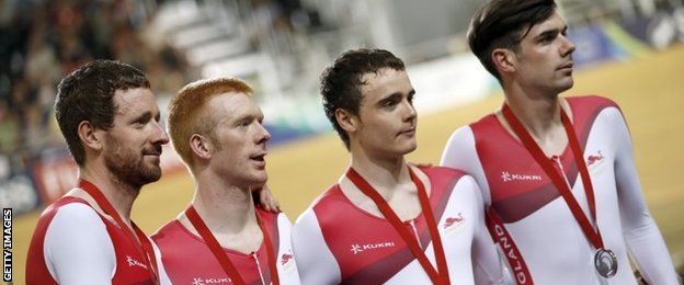 England men's cycling