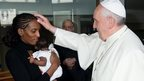 Meriam Ibrahim and Pope Francis