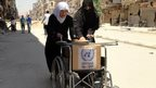 UN sends 'unofficial' aid to Syria