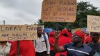 Ghana protests over rising prices