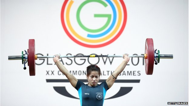 K Sanjita Chanu won India's first gold medal in Glasgow Games