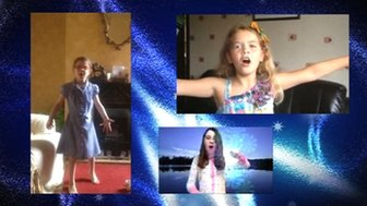 Children perform Let It Go from Frozen