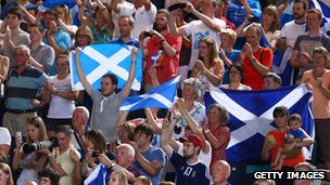 Fans at Commonwealth Games