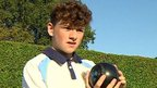 David, 15-year-old bowls player