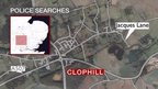 Clophill map