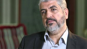Leader of Hamas Khaled Meshaal