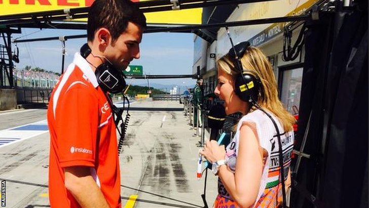 Alexander Rossi and Jennie Gow
